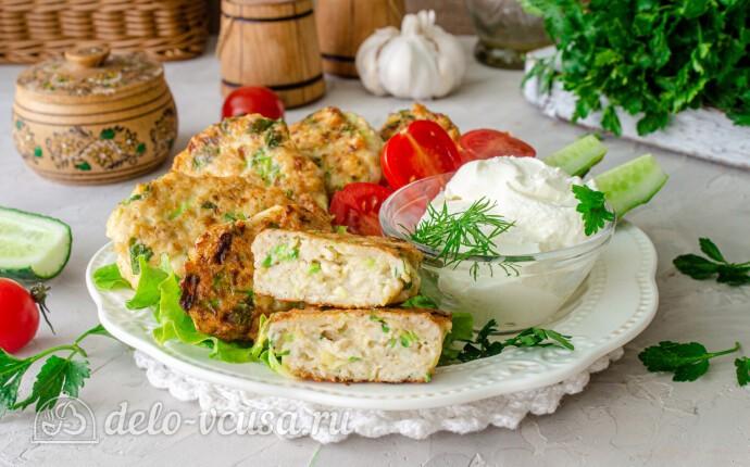 Рецепт куриные котлеты с кабачком на сковороде