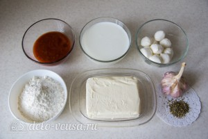"""""""Обезьяний хлеб"""" с сыром и чесноком: Ингредиенты"""