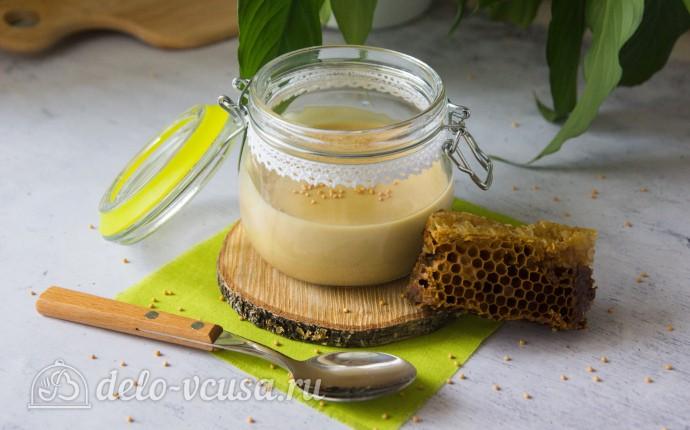 Быстрый медово-горчичный соус на майонезе