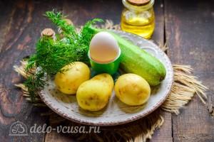 Драники из кабачков и картофеля: Ингредиенты
