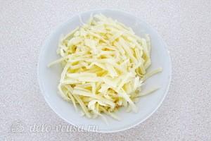 Твердый сыр трем на терке