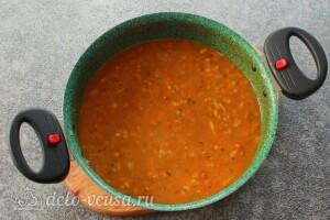 Добавляем воду и варим суп после закипания 20 минут