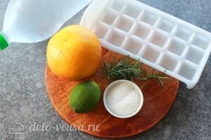 Лимонад с грейпфрутом и розмарином: Ингредиенты