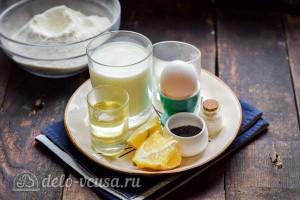 Лимонные панкейки с семенами чиа: Ингредиенты
