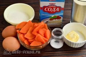 Морковный манный пудинг в духовке: Ингредиенты
