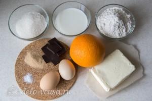 """Шоколадно-апельсиновый кулич """"Краффин"""": Ингредиенты"""
