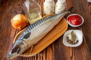 Скумбрия маринованная по-корейски: Ингредиенты