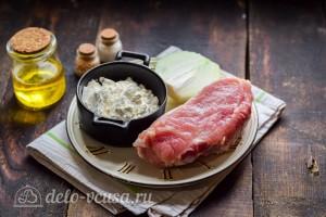 Свинина тушеная по-польски: Ингредиенты