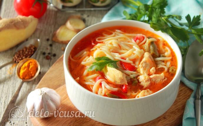 Рецепт тибетский суп тхукпа с курицей