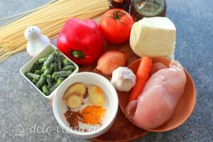 Тибетский суп Тхукпа с курицей: Ингредиенты