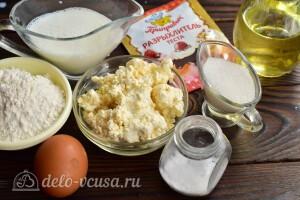 Творожные панкейки на молоке: Ингредиенты