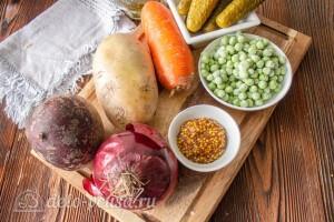 Винегрет из запеченных в духовке овощей: Ингредиенты