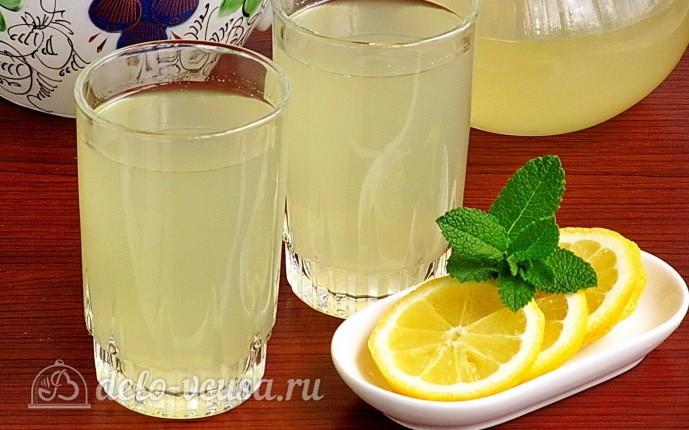 Рецепт витаминный имбирно-мятный лимонад