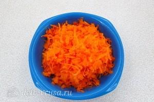 Морковь трем на терке