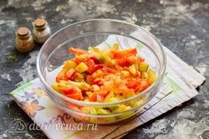 Отправляем овощи в микроволновку
