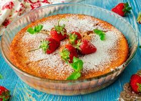 Рецепт нежнейший клафути с клубникой