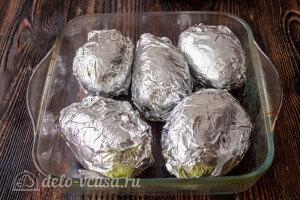 Запекаем картофель в духовке до готовности