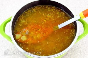 Варим суп 7 минут