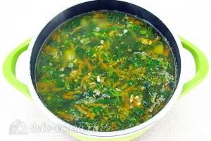 Варим суп еще 2 минуты