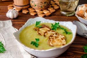 Суп-пюре из кабачков и картофеля готов