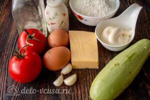 Жареные кабачки «Тещин язык»: Ингредиенты