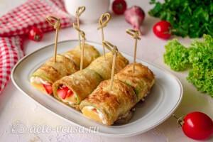 Жареные кабачки «Тещин язык» готовы