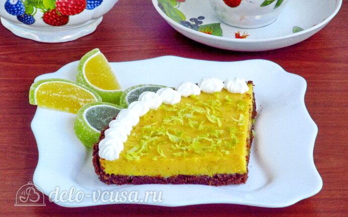 Американский лаймовый пирог