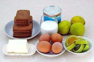 Американский лаймовый пирог: Ингредиенты