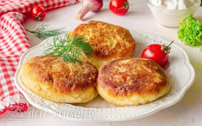 Рецепт белорусские пызы с фаршем