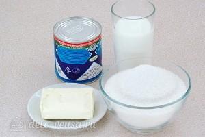 Домашние конфеты «Коровка» из молока: Ингредиенты