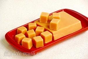 Домашние конфеты «Коровка» из молока готовы