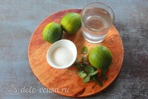 Фруктовый лед «Мохито»: Ингредиенты