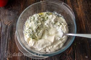Готовим крем из сметаны и зелени