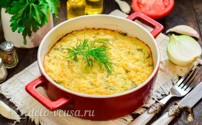 Рецепт картофельная запеканка со щавелем
