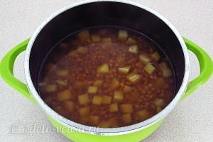 Варим суп до мягкости картофеля