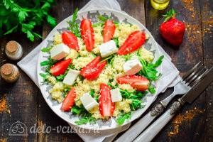 Готовый салат подаем к столу