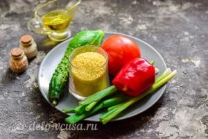 Салат «Табуле» с кускусом: Ингредиенты