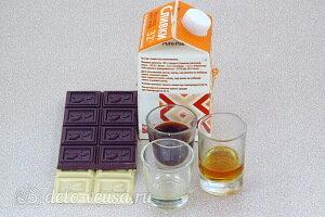 Шоколадные корзинки с кофейным кремом: Ингредиенты