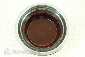 Перемешиваем шоколад до полного растворения
