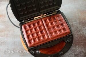 Печем вафли 5-7 минут