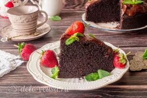 Шоколадный торт «На раз, два, три» готов