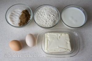 Сладкий «Обезьяний» хлеб с корицей: Ингредиенты