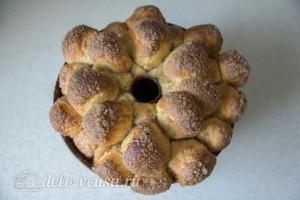 Выпекаем хлеб до готовности в разогретой духовке