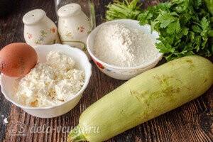 Сырники с кабачками и зеленью: Ингредиенты