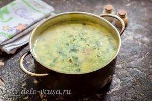 Варим суп до готовности в течение 5 минут