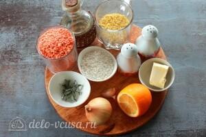 Турецкий суп «Эзо чорбаси» с булгуром и чечевицей: Ингредиенты