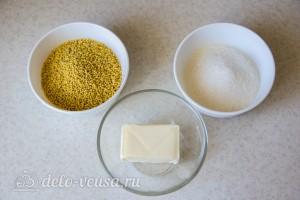 Жент – казахский десерт из пшена: Ингредиенты