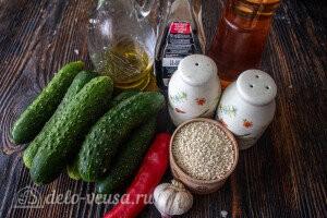 Битые огурцы по-китайски: Ингредиенты