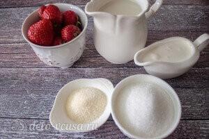 Бланманже из миндального молока: Ингредиенты