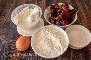 Ленивые вареники с вишней: Ингредиенты